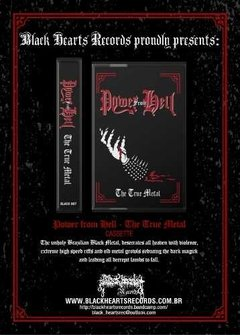 Power From Hell - The True Metal Cassete - Black Hearts Records