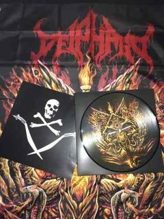 Deiphago - Into The Eyes Of Satan Lp Picture