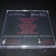 Power From Hell / Whipstriker  - Brazilian Bestial Cd - comprar online