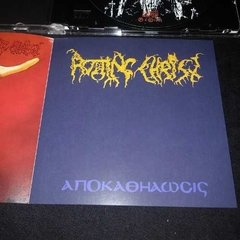 Rotting Christ - Thy Might Contract - Satanas Tedeum Cd - Black Hearts Records