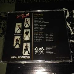 Living Death - Metal Revolution Cd  - comprar online