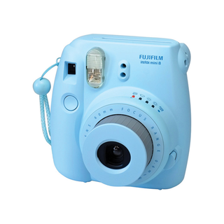 Fujifilm instax mini 8 Instant Film Camera (Blue)