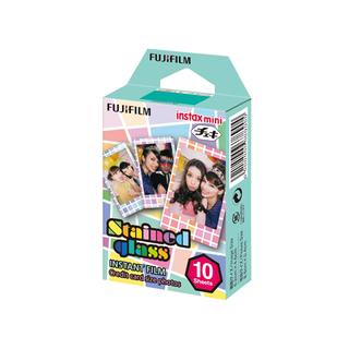 Fujifilm instax mini Stained Glass Instant (10 hojas)