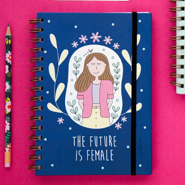 Cuaderno A5 Future is Female