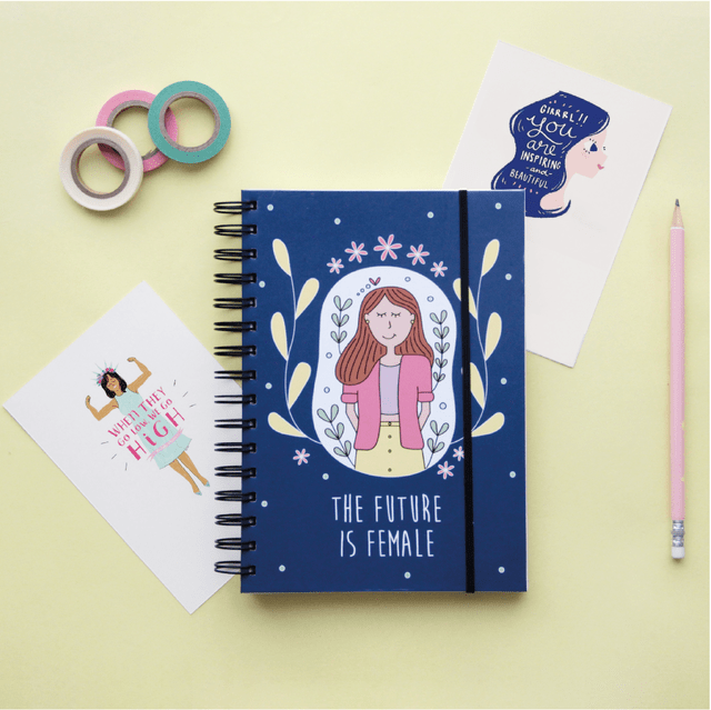 Cuaderno A5 Future is Female - comprar online