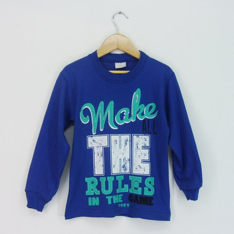 Remera Kid varon The Rules