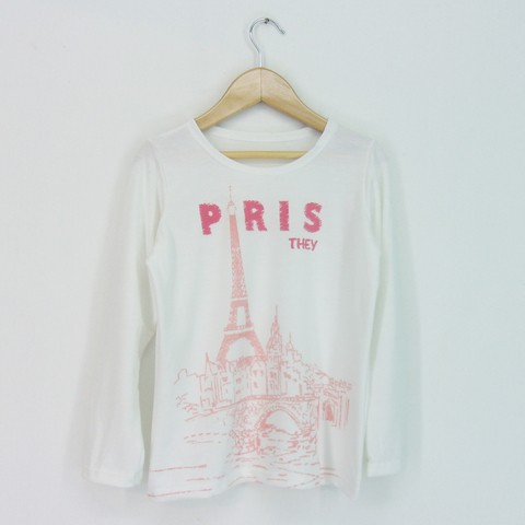 Remera Kid nena Paris