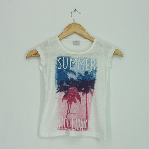 Remera Kid Nena Summer Holiday - they and they