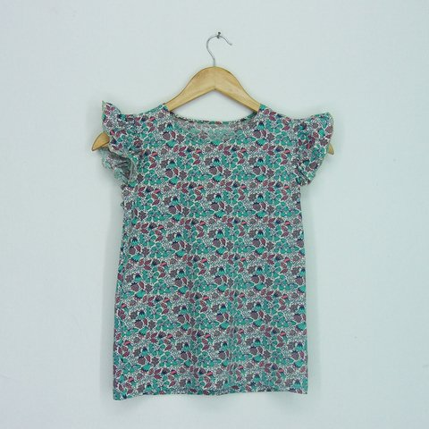 Remera Kid nena estampada