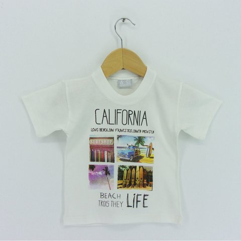 Remera Small Varon California