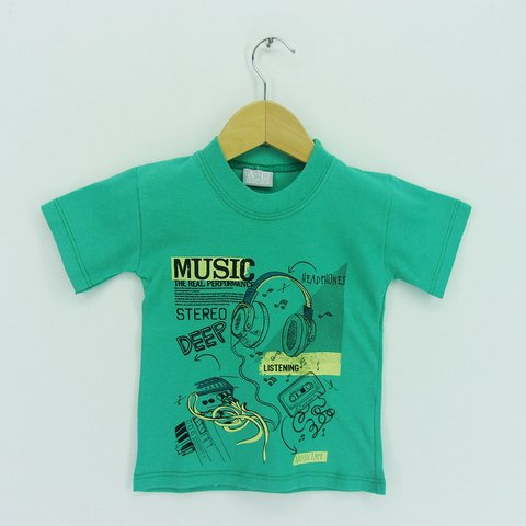 Remera Small Varon Music On - comprar online