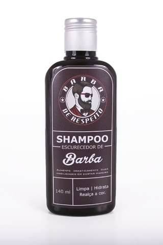 Shampoo Escurecedor Para Barba 140 ml - buy online