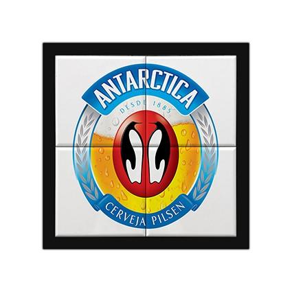 Quadro Decorativo MDF Azulejos Antarctica