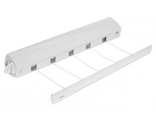 Tendedero extensible retractil p tender ropa leifheit pared - Tendedero de pared extensible ...