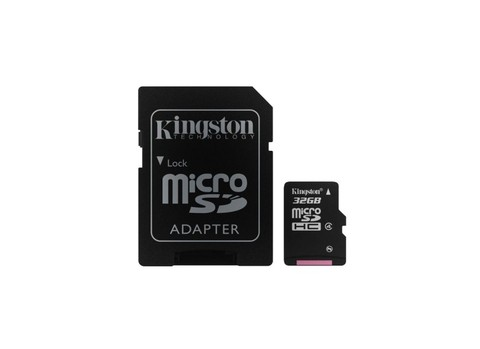 CARTAO DE MEMORIA MICRO SD 32GB KINGSTON C/ADAPTADOR