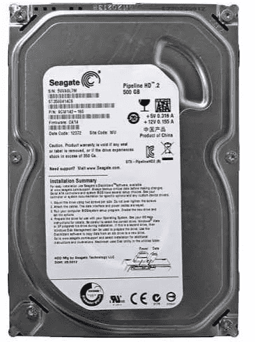 HD 500GB SEAGATE SATA II PIPELINE ST3500414CS