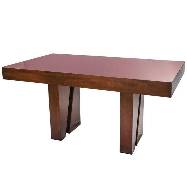 Mesa de comedor de madera extensible modelo Luana 2