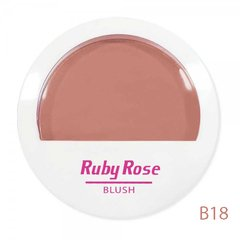 blush-cor-b18-marrom-hb-6105-ruby-rose-rv-beauty