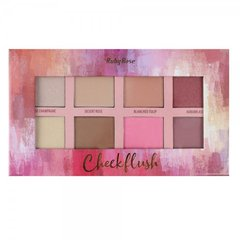 Paleta de Iluminador, Blush e Contorno Cheek Flush 33,6g (HB7507) - Ruby Rose