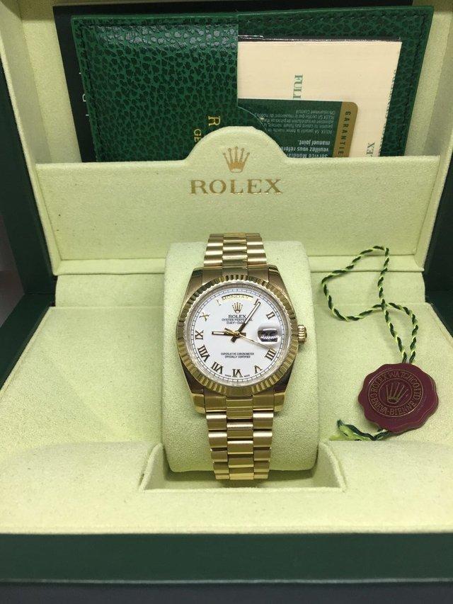 21194d65dd7 Rolex Oyster P. Datejust Gold 36 - Comprar em USASTORE