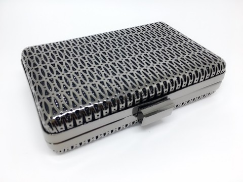 Clutch Metalizada Ônix