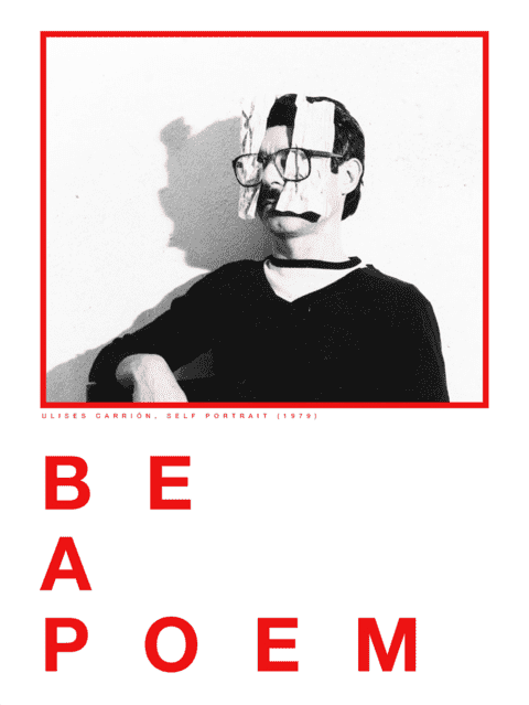 Be a Poem / Poster