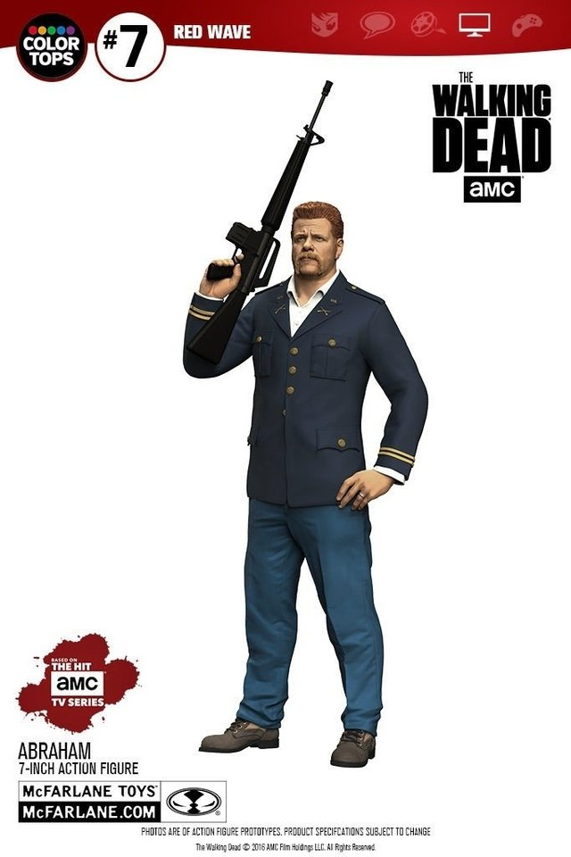 McFarlane Toys - The Walking Dead - Red Wave - Abraham Ford - comprar online