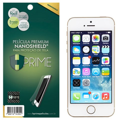 Película Premium HPrime Apple iPhone 5 5S SE - NanoShield