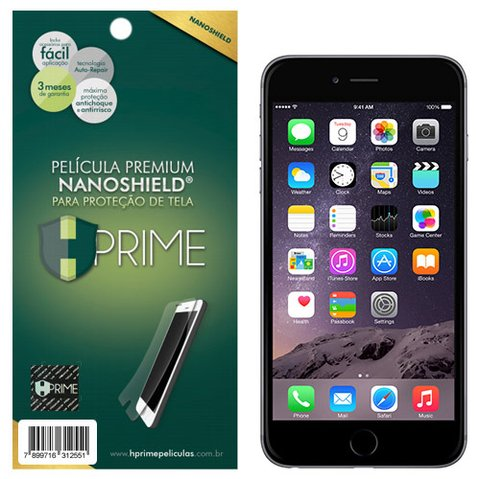 Película Premium HPrime Apple iPhone 6 6S - NanoShield