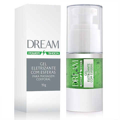 Dream - Power Shock - Gel Eletrizante com Esferas - 19g