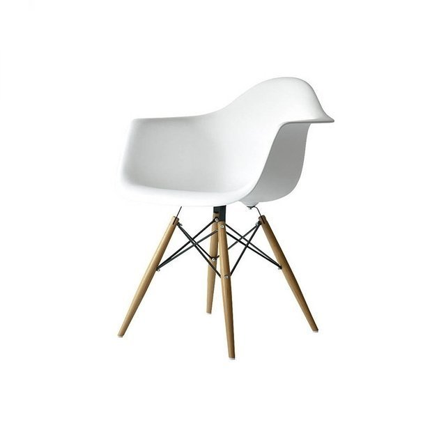sillon eames blanco - Sillon Eames