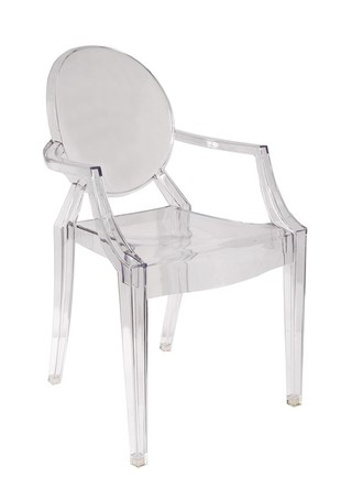 Sillon Ghost Transparente
