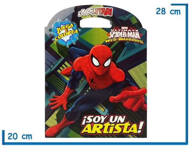 Libro para colorear Spiderman - KIDZ juguetes