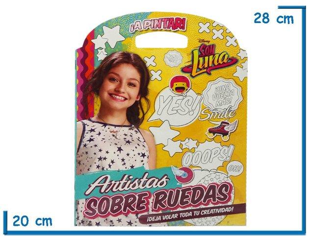 Libro para colorear Soy Luna Artistas - KIDZ juguetes
