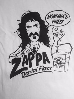 Remera Frank Zappa Dental Floss (hilo Dental) - Freaky Styley