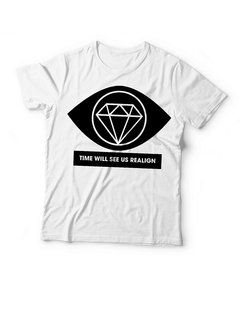 REMERA DIAMOND EYES BY LU XIU - comprar online