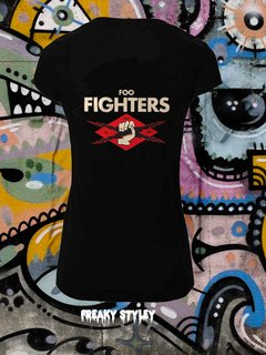REMERA FOO FIGHTERS 4 - comprar online