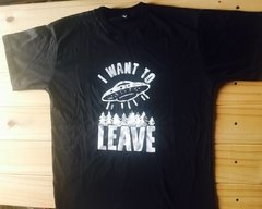 REMERA I WANT TO LEAVE