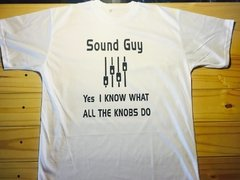 REMERA SONIDISTA YES, I KNOW WHAT ALL THESE KNOBS DO - comprar online