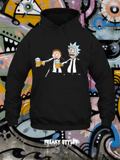 BUZO RICK AND MORTY PORTAL PULP FICTION