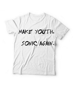 Remera Sonic Youth Make Youth Sonic Again