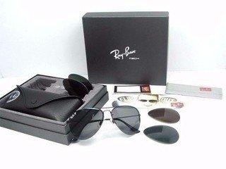 ray ban kit 3 lentes