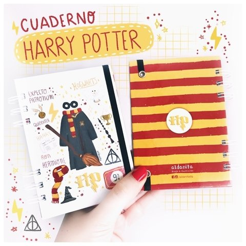 Cuaderno Harry Potter pocket 10x15