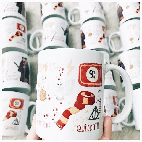 Taza Harry Potter con packaging