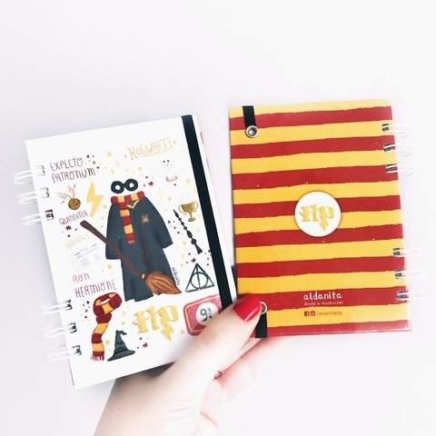 Cuaderno Harry Potter pocket 10x15 - aldanita