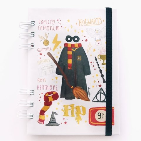 Cuaderno Harry Potter pocket 10x15 - comprar online