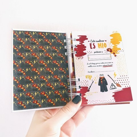 Cuaderno Harry Potter pocket 10x15 en internet