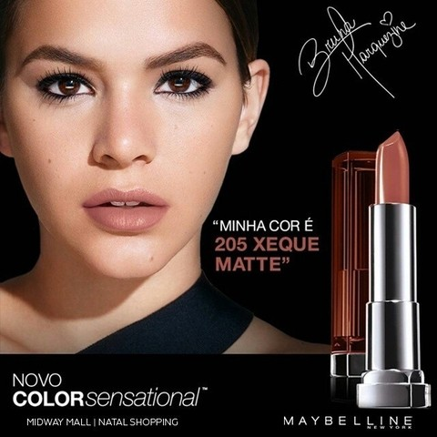 Batom Matte Color Sensational N.205 Xeque Matte - Maybelline