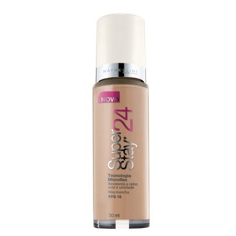 Base Líquida Super Stay 24h Cor 100 Honey Beige Medium - Maybelline