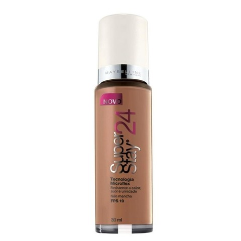 Base Líquida  Super Stay 24h Cor 120 Cocoa Dark - Maybelline